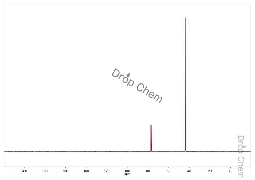 1,2-ジクロロエタンの13CNMRスペクトル