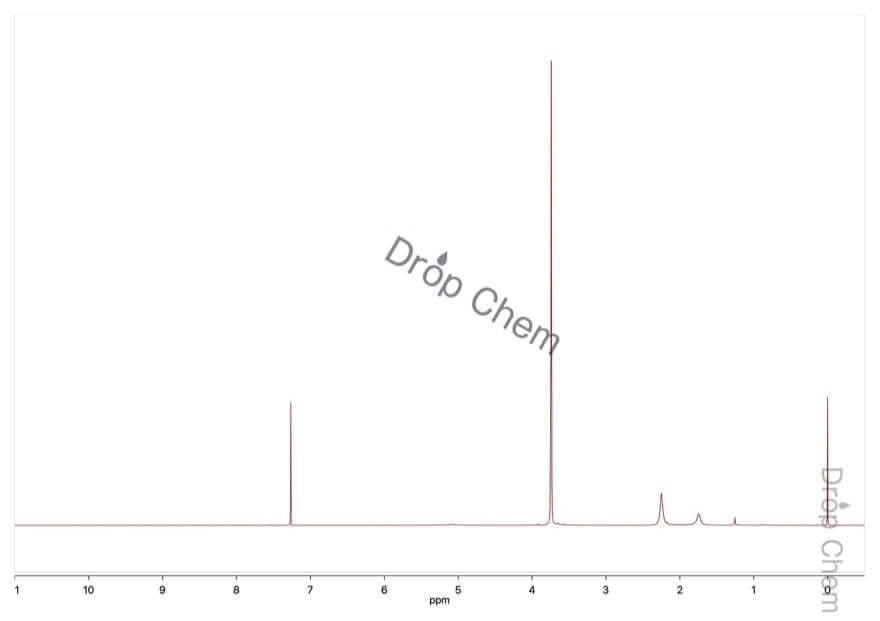 エチレングリコールの1HNMRスペクトル