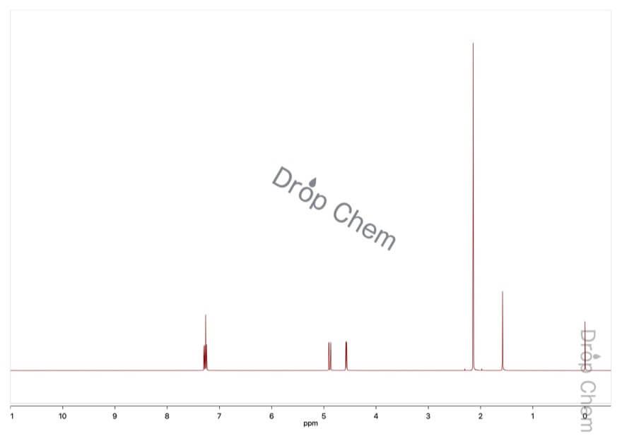 酢酸ビニルの1HNMRスペクトル