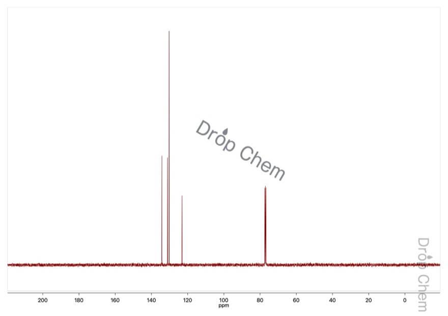 1,3-ジブロモベンゼンの13CNMRスペクトル