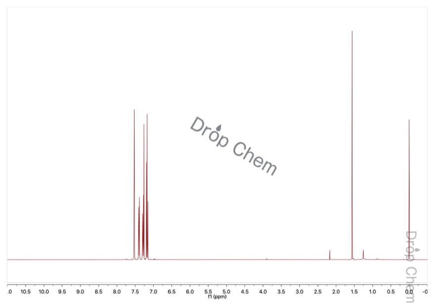 1-ブロモ-3-クロロベンゼンの1HNMRスペクトル