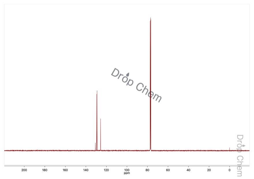 ベンゼンチオールの13CNMRスペクトル