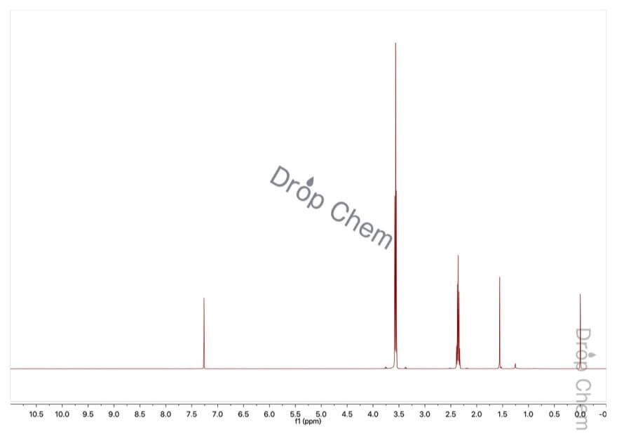 トリメチレンブロミドの1HNMRスペクトル