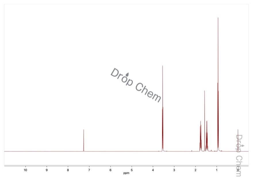 1-クロロブタンの1HNMRスペクトル
