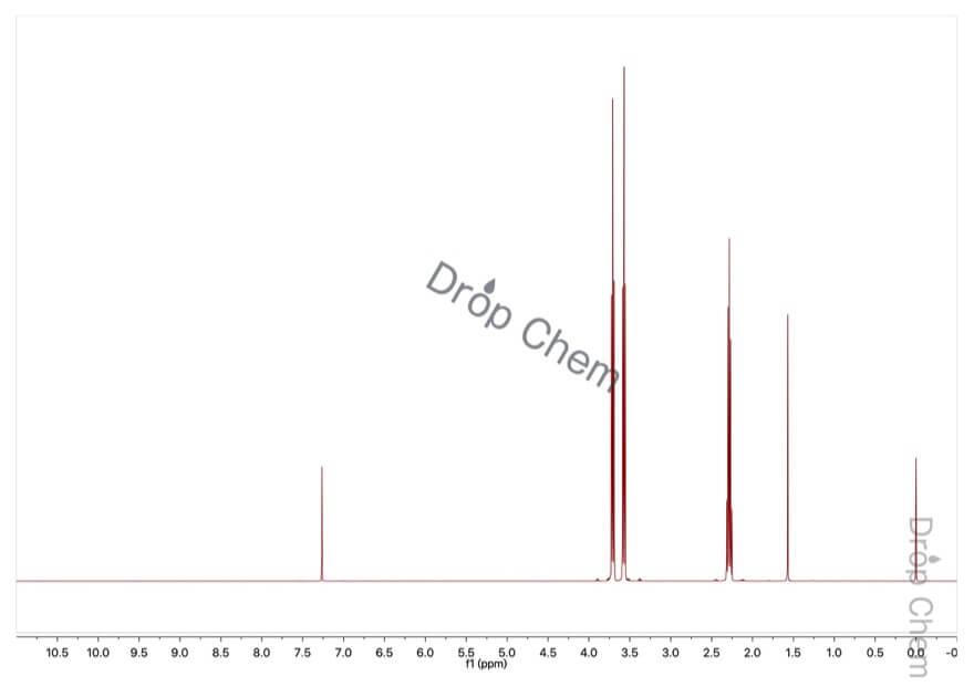 1-ブロモ-3-クロロプロパンの1HNMRスペクトル