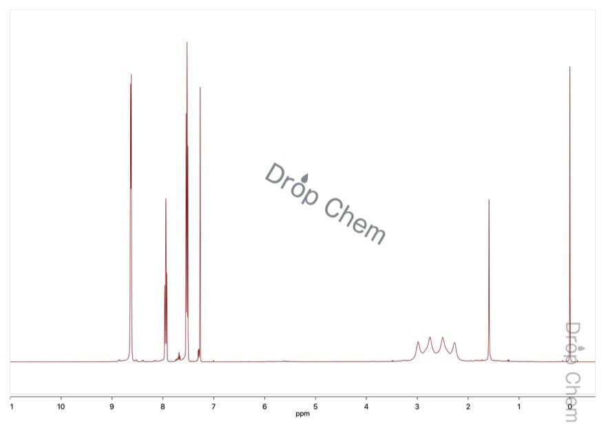 ボラン - ピリジン コンプレックスの1HNMRスペクトル