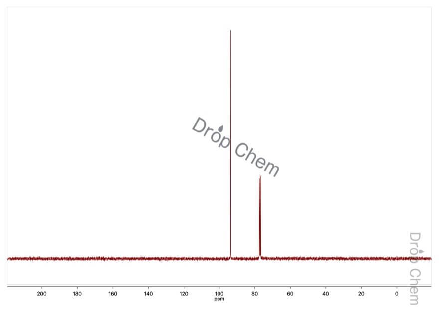 1,3,5-トリオキサンの13CNMRスペクトル