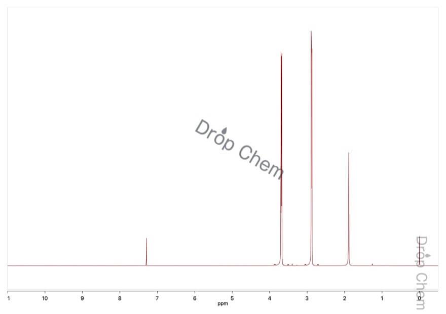 モルホリンの1HNMRスペクトル