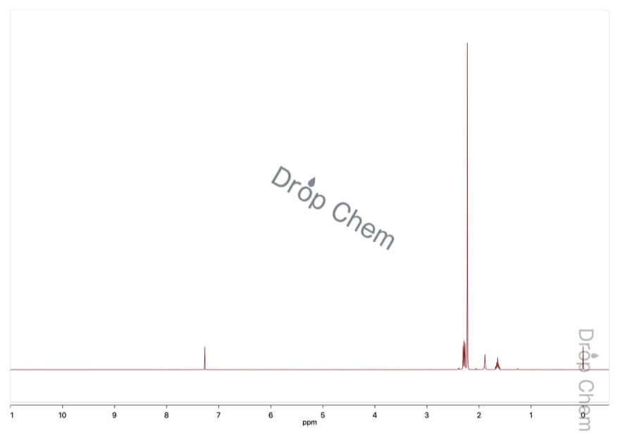 N,N,N',N'-テトラメチル-1,3-ジアミノプロパンの1HNMRスペクトル