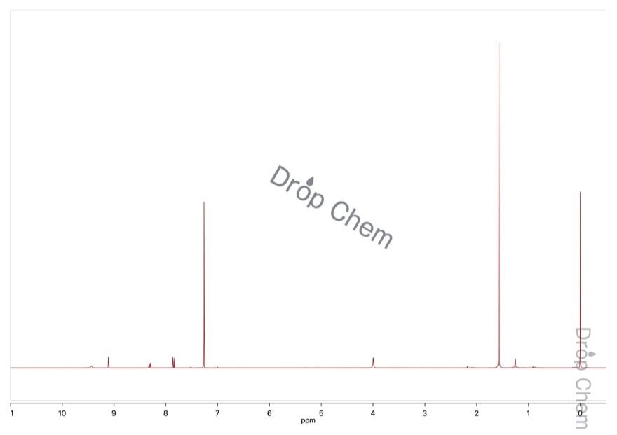 2,4-ジニトロフェニルヒドラジンの1HNMRスペクトル