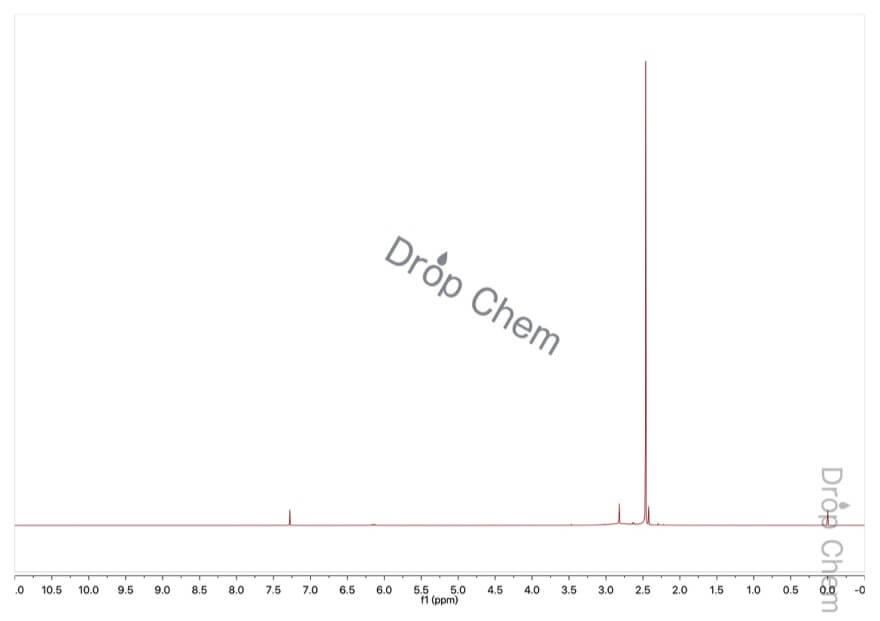 1,1-ジメチルヒドラジンの1HNMRスペクトル