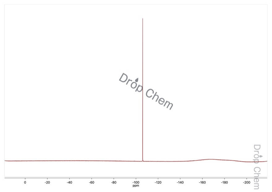 2,4-ジニトロフルオロベンゼンの19FNMRスペクトル