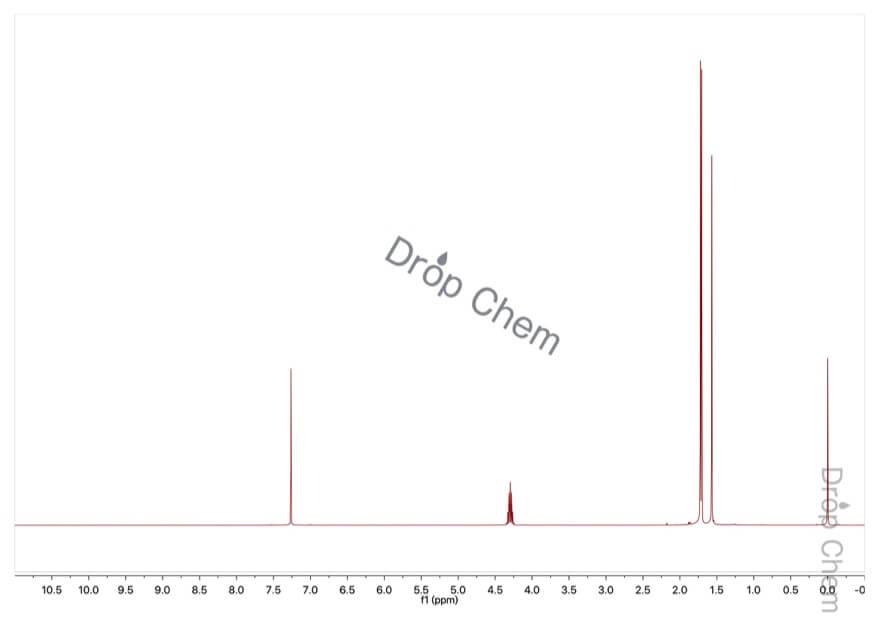 2-ブロモプロパンの1HNMRスペクトル