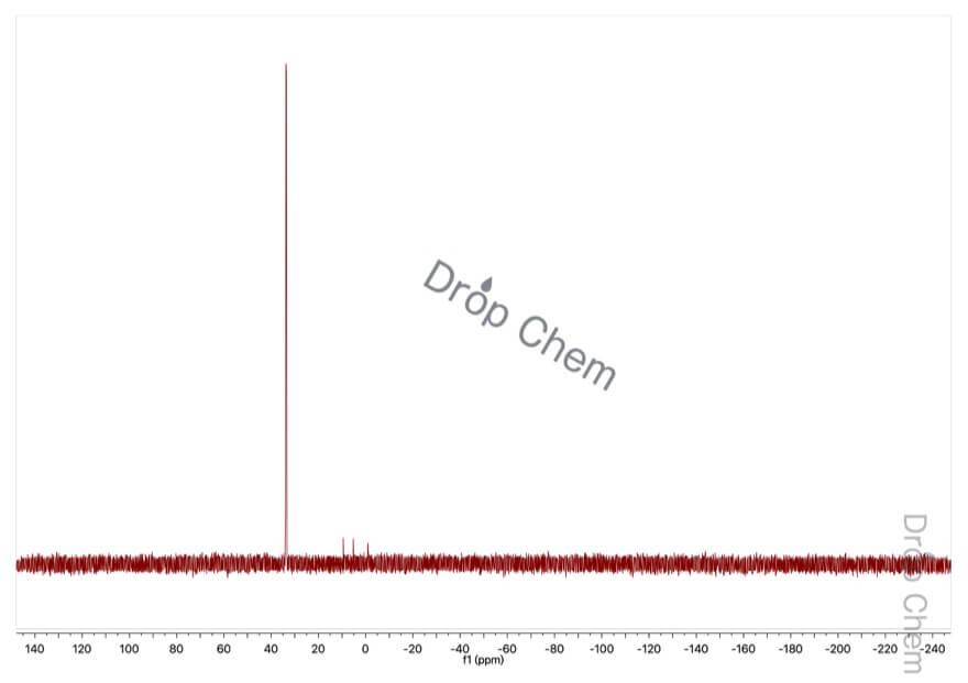エチルホスホン酸ジエチルの31PNMRスペクトル