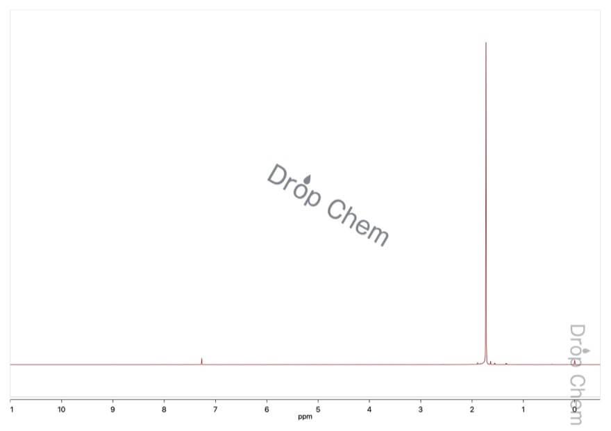 2,2'-アゾビス(イソブチロニトリル)の1HNMRスペクトル
