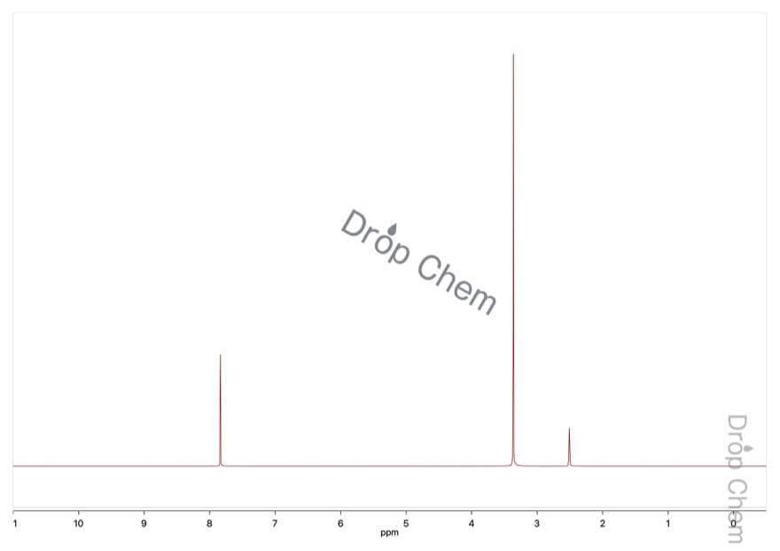 フタルイミドの1HNMRスペクトル