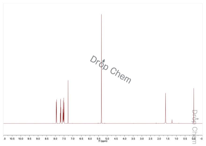 フタリドの1HNMRスペクトル