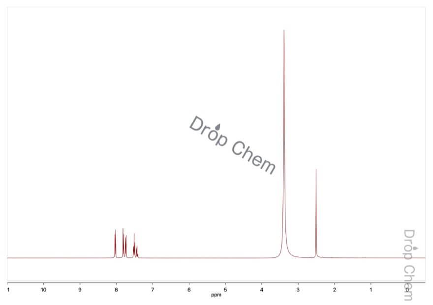 ビフェニル-4-カルボン酸の1HNMRスペクトル
