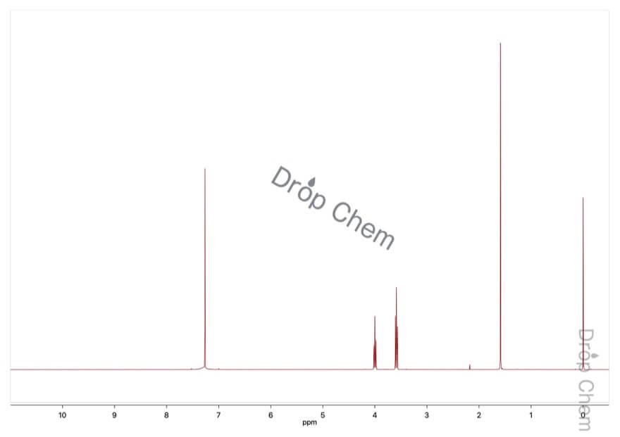 2-メルカプトチアゾリンの1HNMRスペクトル