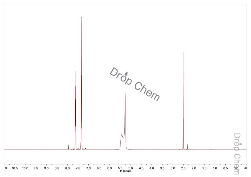ベンゼンスルホン酸の1HNMRスペクトル(DMSO-d6)