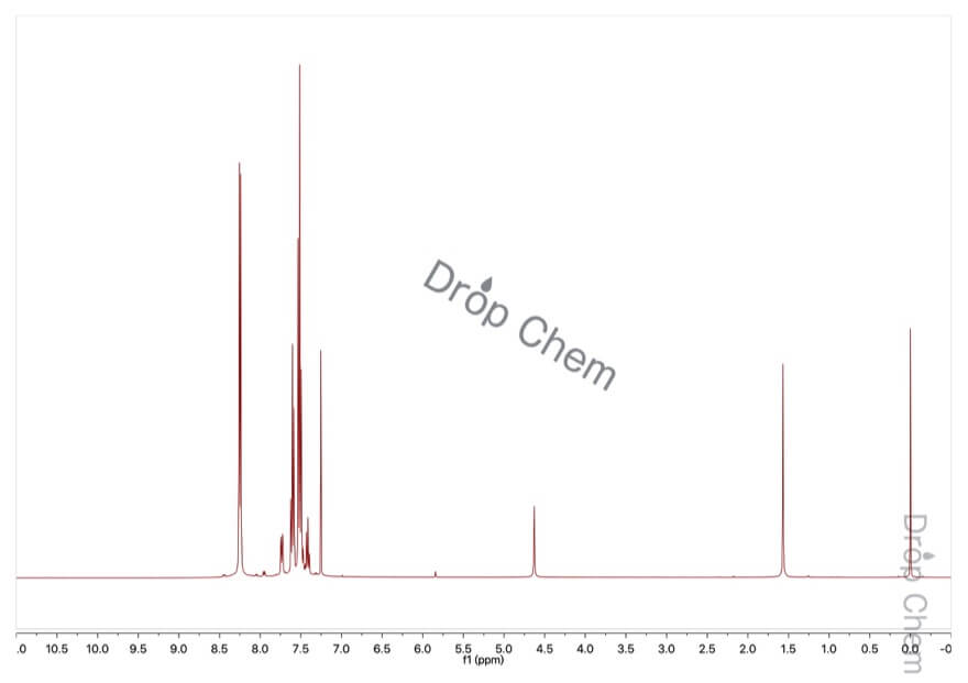 フェニルボロン酸の1HNMRスペクトル