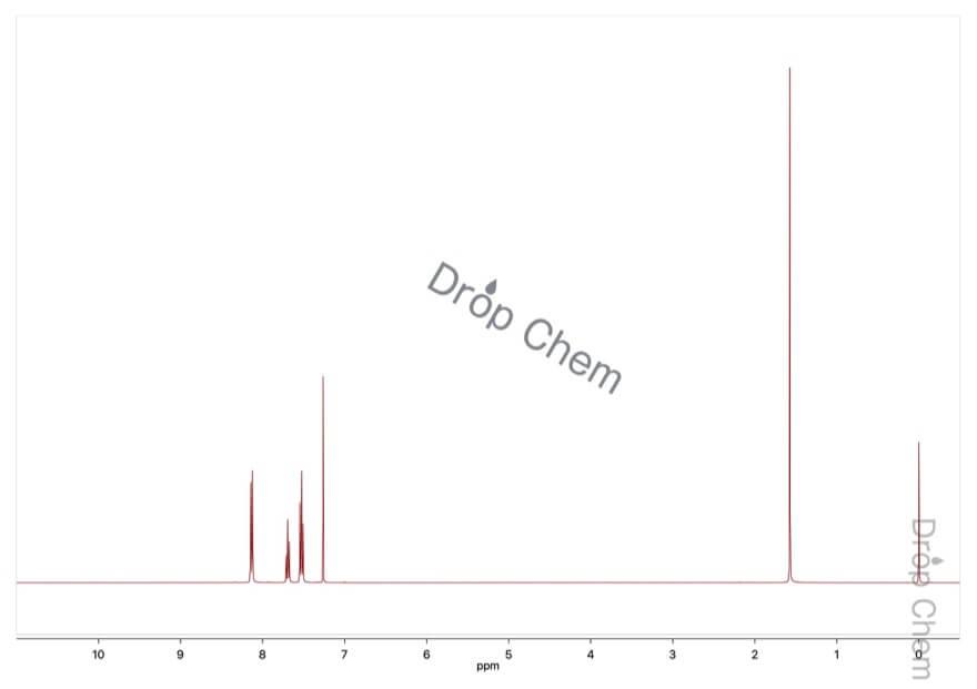 ベンゾイルクロリドの1HNMRスペクトル