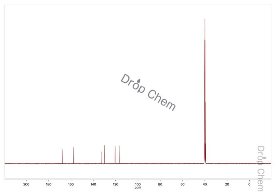 3-ヒドロキシ安息香酸の13CNMRスペクトル