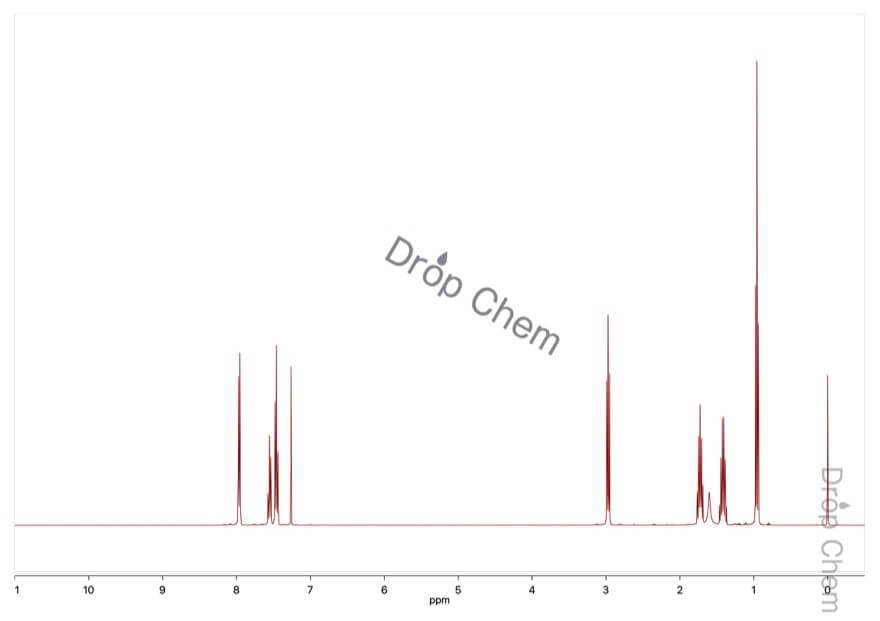 バレロフェノンの1HNMRスペクトル