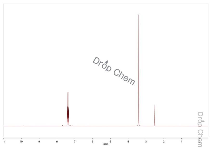 フタルイミドカリウムの1HNMRスペクトル