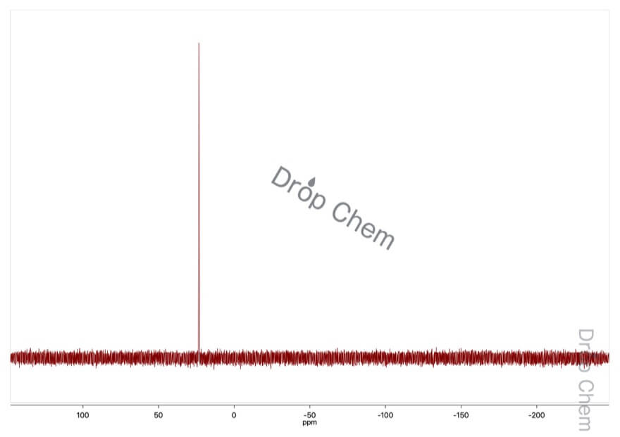 ベンジルトリフェニルホスホニウムクロリドの13CNMRスペクトル