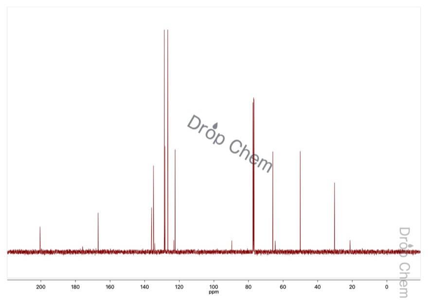 アセト酢酸アリルの13CNMRスペクトル