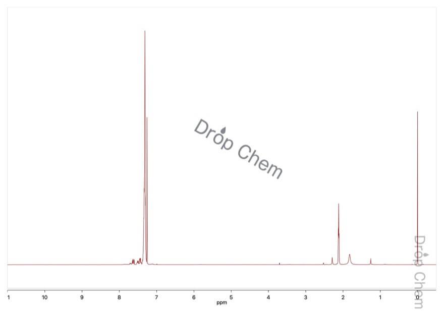 1,2-ビス(ジフェニルホスフィノ)エタンの1HNMRスペクトル