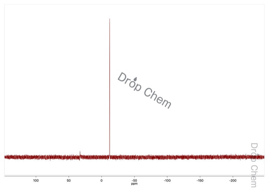 1,2-ビス(ジフェニルホスフィノ)エタンの31PNMRスペクトル