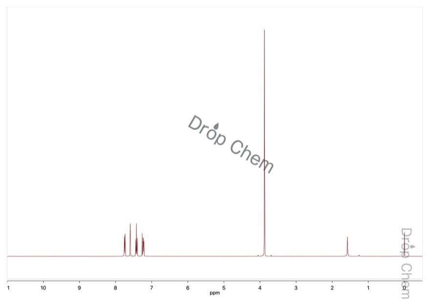 3-メトキシベンゾイルクロリドの1HNMRスペクトル