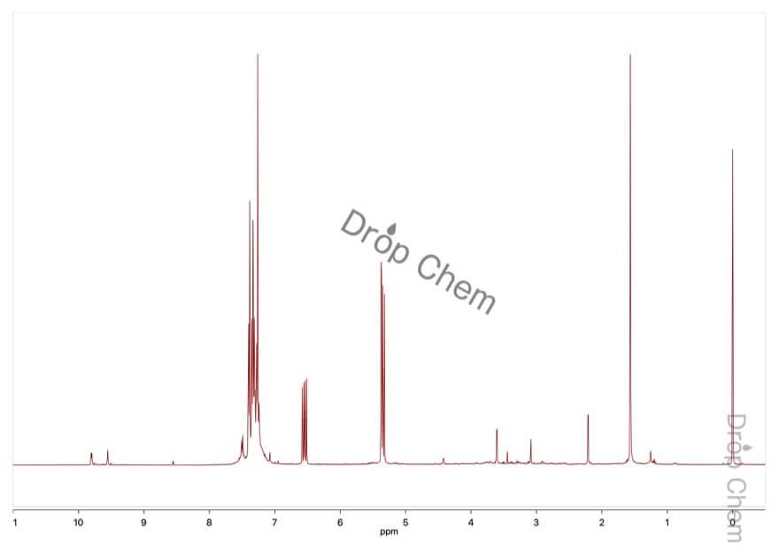 フェニルビニルスルフィドの1HNMRスペクトル