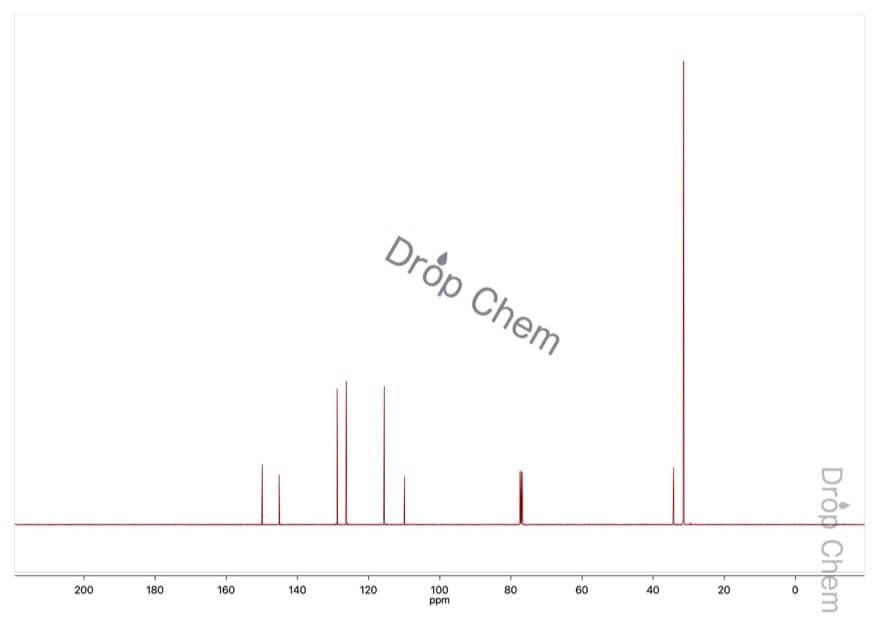 2-ブロモ-4-tert-ブチルフェノールの13CNMRスペクトル