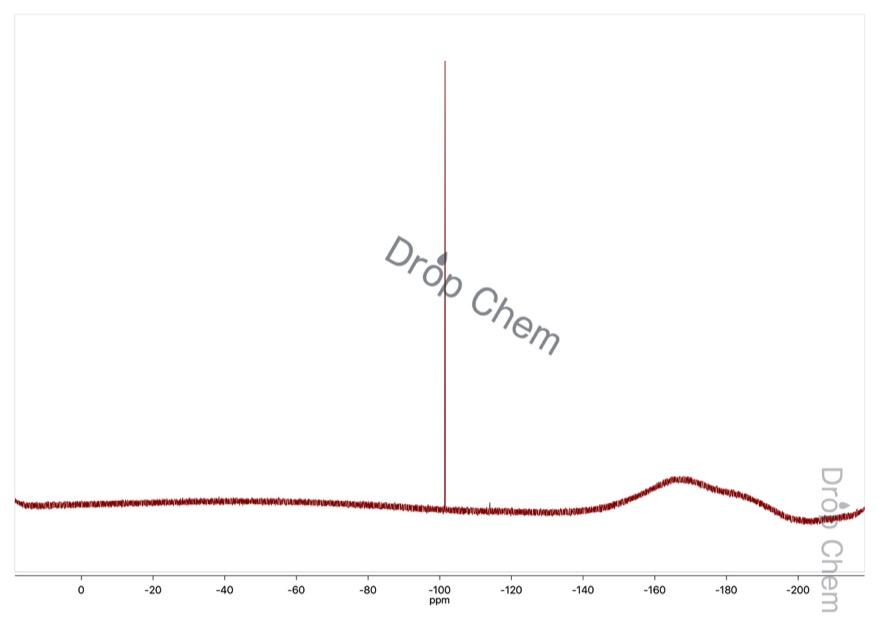 5-フルオロ-2-ニトロアニリンの19FNMRスペクトル
