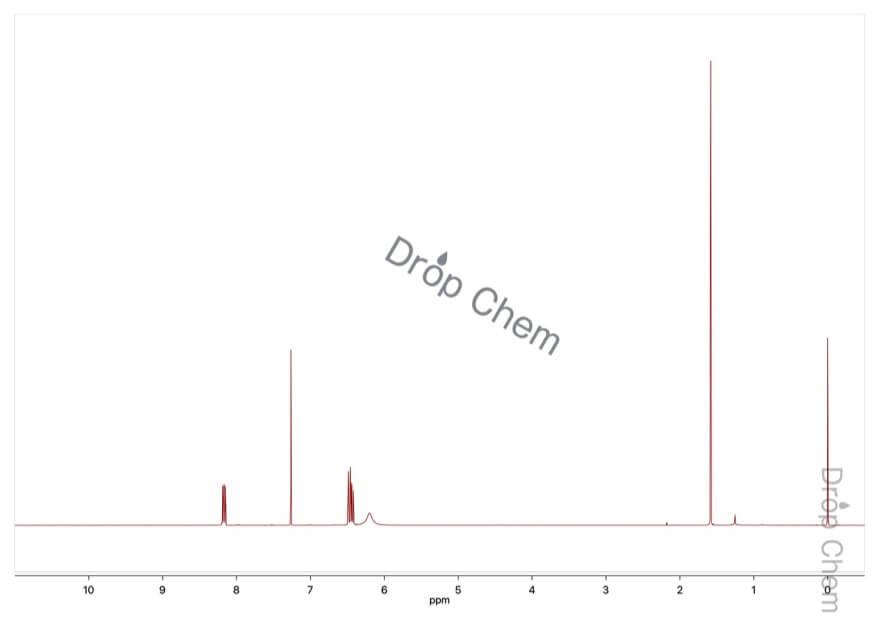 5-フルオロ-2-ニトロアニリンの1HNMRスペクトル