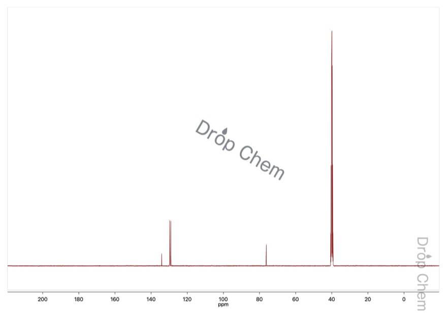 O-ベンジルヒドロキシルアミン塩酸塩の13CNMRスペクトル