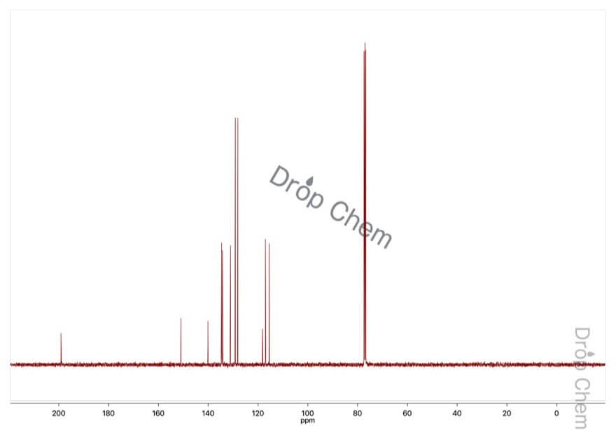 2-アミノベンゾフェノンの13CNMRスペクトル