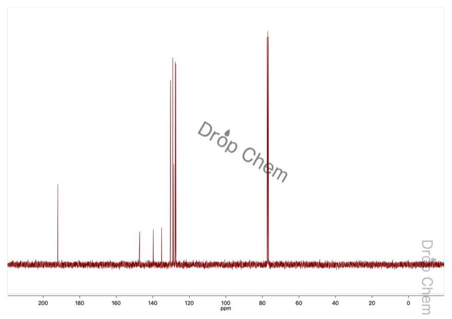 ビフェニル-4-カルボキシアルデヒドの13CNMRスペクトル