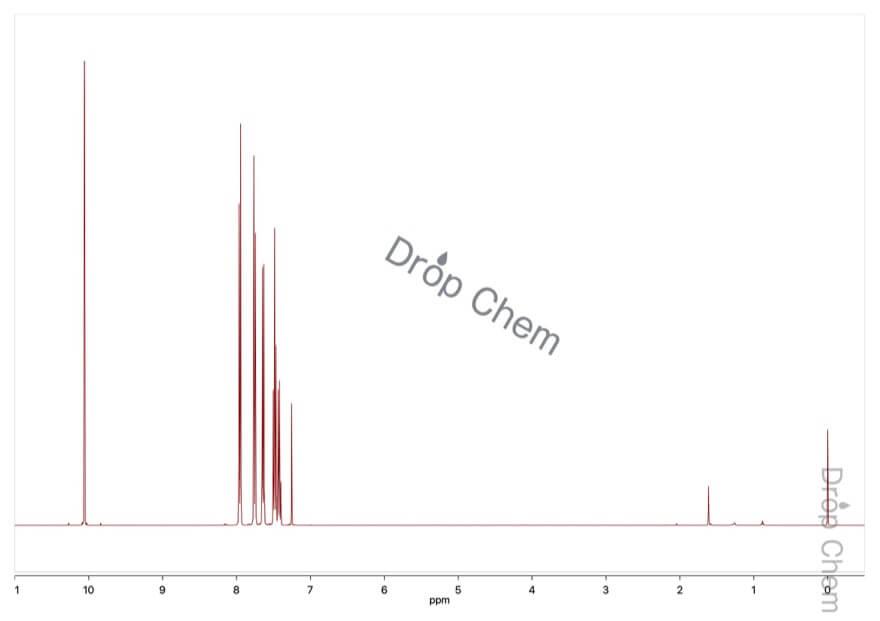 ビフェニル-4-カルボキシアルデヒドの1HNMRスペクトル