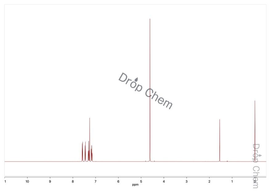 2-ブロモベンジルブロミドの1HNMRスペクトル