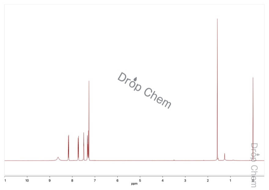 4-ニトロインドールの1HNMRスペクトル