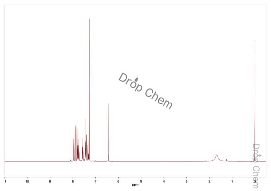 3-ベンザルフタリドの1HNMRスペクトル