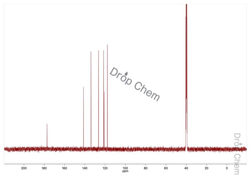 9(10H)-アクリドンの13CNMRスペクトル