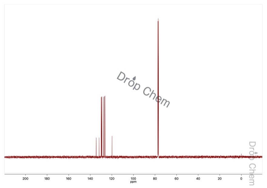 2-ブロモナフタレンの13CNMRスペクトル