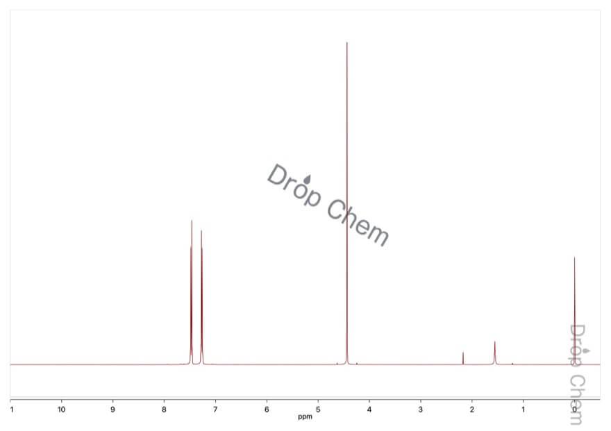 4-ブロモベンジルブロミドの1HNMRスペクトル