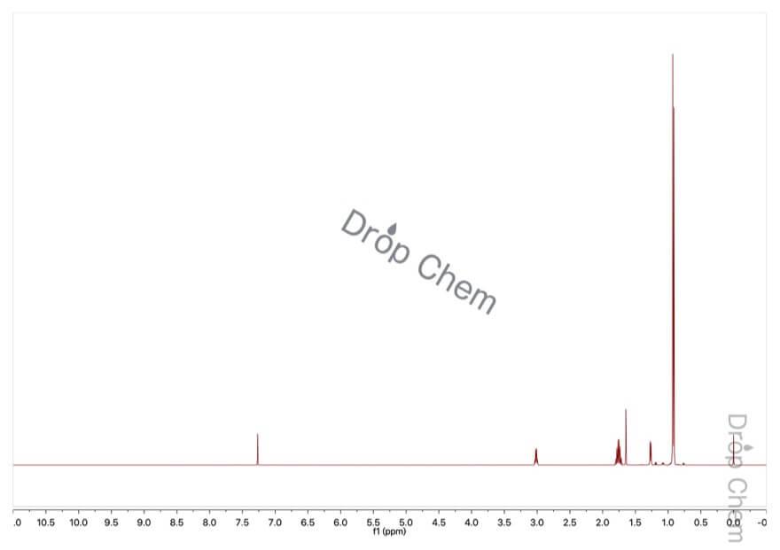 2,4-ジメチル-3-ペンタノールの1HNMRスペクトル