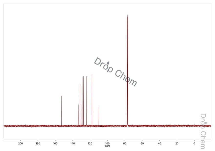 1,1'-ビ-2-ナフトールの13CNMRスペクトル